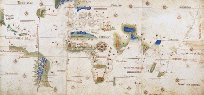Cantino map 1502