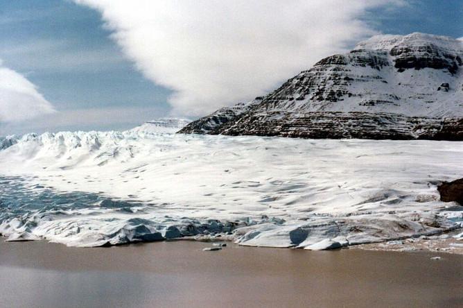 Cook Glacier, Kerguelen Island